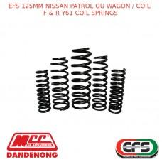 EFS 125MM LIFT KIT FOR NISSAN PATROL GU WAGON / COIL F & R Y61