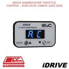 IDRIVE WINDBOOSTER THROTTLE CONTROL - AUDI A4/S4 CABRIO 2003-2006