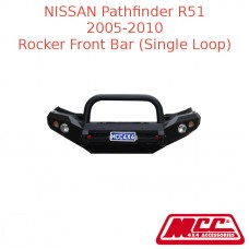 MCC ROCKER FRONT BAR (SINGLE LOOP) SUIT NISSAN PATHFINDER R51