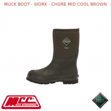 MUCK BOOT - MEN'S WORK BOOT - CHORE MID COOL BROWN