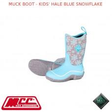 MUCK BOOT - KIDS' HALE BLUE SNOWFLAKE