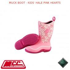 MUCK BOOT - KIDS' HALE PINK HEARTS