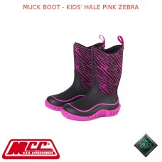 MUCK BOOT - KIDS' HALE PINK ZEBRA