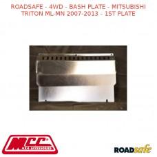 ROADSAFE - 4WD - BASH PLATE - MITSUBISHI TRITON ML-MN 2007-2013 - 1ST PLATE