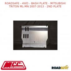 ROADSAFE - 4WD - BASH PLATE - MITSUBISHI TRITON ML-MN 2007-2013 - 2ND PLATE