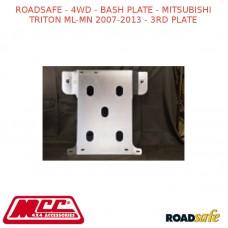 ROADSAFE - 4WD - BASH PLATE - MITSUBISHI TRITON ML-MN 2007-2013 - 3RD PLATE