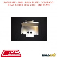 ROADSAFE - 4WD - BASH PLATE - COLORADO DMAX RODEO 2012-2013 (DIESEL 4X4 DUAL CAB) - 2ND PLATE