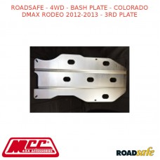ROADSAFE - 4WD - BASH PLATE - COLORADO DMAX RODEO 2012-2013 (DIESEL 4X4 DUAL CAB) - 3RD PLATE
