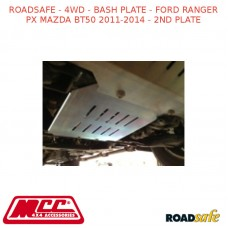ROADSAFE - 4WD - BASH PLATE - FORD RANGER PX MAZDA BT50 2011-2014 - 2ND PLATE