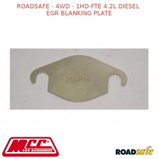 ROADSAFE - 4WD - 1HD-FTE 4.2L DIESEL EGR BLANKING PLATE