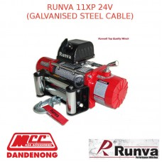 RUNVA 11XP 24V WITH GALVANISED STEEL CABLE