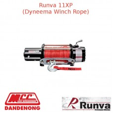 RUNVA 11000lb 6.5HP BLACK WINCH DYNEEMA ROPE