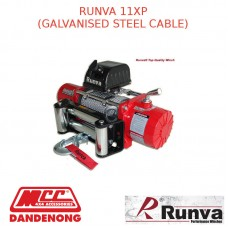 RUNVA 11000lb 6.5HP RED GALVANISED STEEL CABLE