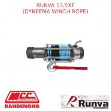 RUNVA 13.5XF 12V WITH DYNEEMA WINCH ROPE