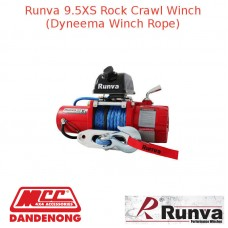 RUNVA 9500lb 5.8HP RED WINCH DYNAMEE ROPE