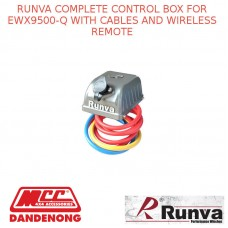 RUNVA COMPLETE CONTROL BOX FOR EWX9500-Q WITH CABLES AND WIRELESS REMOTE