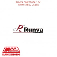 RUNVA EWK2000A 12V WITH STEEL CABLE