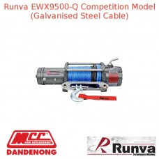 RUNVA 9500lb 8.6HP or 10.7HP GREY GALVANISED STEEL CABLE