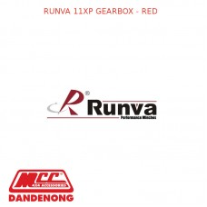 RUNVA 11XP GEARBOX - RED
