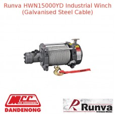 RUNVA 15000lb GREY GALVANISED STEEL CABLE