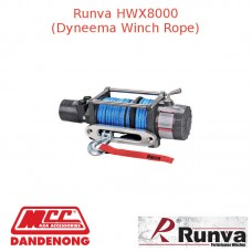 RUNVA 8000lb GREY WINCH DYNEEMA ROPE