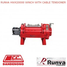 RUNVA HWX20000 WINCH WITH CABLE TENSIONER