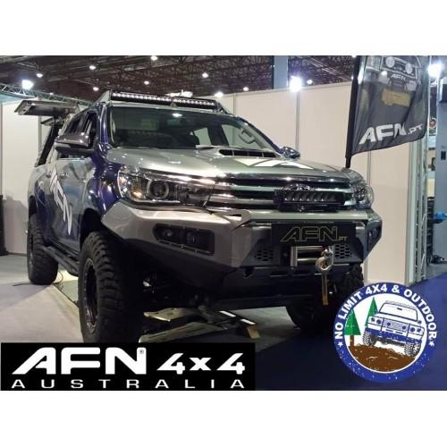 Afn Toyota Hilux 2015 No Loop Complete Bumper Bull Bar Arb