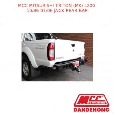 MCC JACK REAR BAR SUIT MITSUBISHI TRITON (MK) L200 (10/1996-07/2006)
