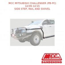 MCC BULLBAR SIDE STEP, RAIL AND SWIVEL SUIT MITSUBISHI CHALLENGER (PB-PC) (12/2009-12/2015)