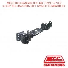 MCC ALLOY BULLBAR BRACKET SUIT FORD RANGER (PX) MK I (09/2011-07/2015)