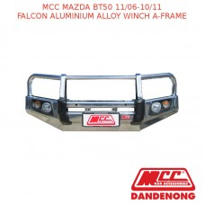 MCC FALCON BAR ALUMINIUM ALLOY WINCH A-FRAME SUIT MAZDA BT50 (11/2006-10/2011)