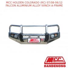 MCC FALCON BAR  ALUMINIUM ALLOY WINCH A-FRAME SUIT HOLDEN COLORADO (RC) (07/2008-06/2012)