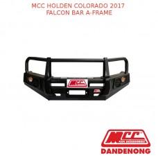 MCC FALCON BAR A-FRAME SUIT HOLDEN COLORADO (2017)