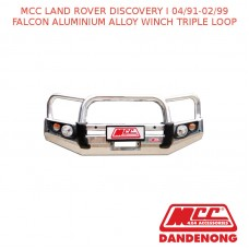 MCC FALCON BAR ALUMINIUM ALLOY WINCH TRIPLE LOOP SUIT LAND ROVER DISCOVERY I (04/1991-02/1999)
