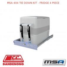 MSA 4X4 TIE DOWN KIT - FRIDGE 4 PIECE