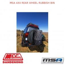 MSA 4X4 REAR WHEEL RUBBISH BIN