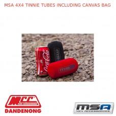 MSA 4X4 TINNIE TUBES INCLUDING CANVAS BAG