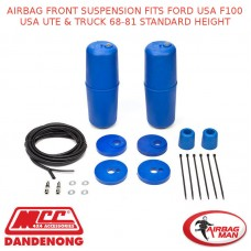 AIRBAG FRONT SUSPENSION FITS FORD USA F100 USA UTE & TRUCK 68-81 STANDARD HEIGHT