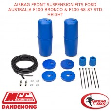 AIRBAG FRONT SUSPENSION FITS FORD AUSTRALIA F100 BRONCO & F100 68-87 STD HEIGHT