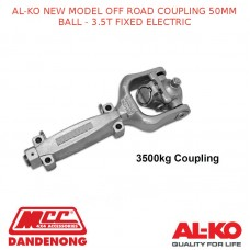 AL-KO NEW MODEL OFF ROAD COUPLING 50MM BALL - 3.5T FIXED ELECTRIC