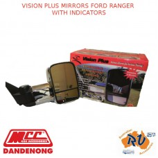 VISION PLUS MIRRORS FITS FORD RANGER WITH INDICATORS