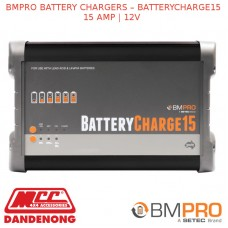 BMPRO BATTERY CHARGERS – BATTERYCHARGE15 15 AMP | 12V