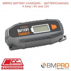 BMPRO BATTERY CHARGERS - BATTERYCHARGE4 4 Amp | 6V and 12V