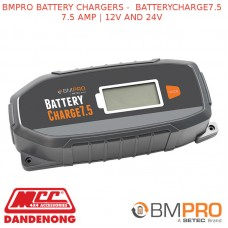 BMPRO BATTERY CHARGERS – BATTERYCHARGE7.5  7.5 AMP | 12V AND 24V