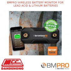 BMPRO WIRELESS BATTERY MONITOR FOR LEAD ACID & LITHIUM BATTERIES