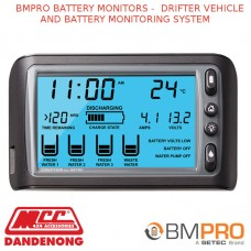 BMPRO BATTERY MONITORS -  DRIFTER VEHICLE AND BATTERY MONITORING SYSTEM