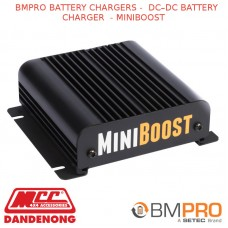 BMPRO BATTERY CHARGERS -  DC–DC BATTERY CHARGER  - MINIBOOST