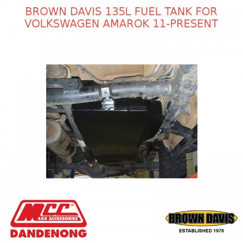 BROWN DAVIS 135L FUEL TANK FOR VOLKSWAGEN AMAROK 11-PRESENT