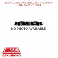 BROWN DAVIS 100L FUEL TANK FITS TOYOTA HILUX 84-88 - TH66R4