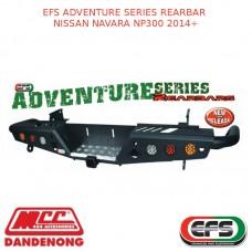 EFS ADVENTURE SERIES REARBAR SUIT NISSAN NAVARA NP300 2014+
